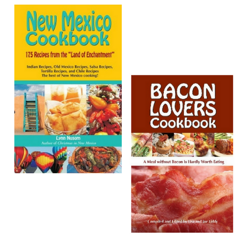 Book Combo-Bacon Lovers & New Mexico Cookbook