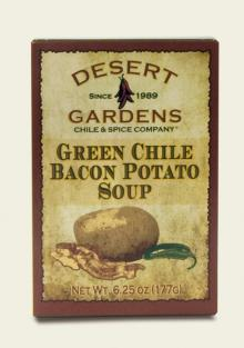 Desert Gardens Green Chile Bacon Potato Soup Mix-2 Pack