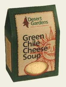 Desert Gardens Green Chile Cheese Soup Mix-2 Pack