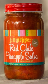 Jillipepper Red Chile Pineapple Salsa- 2 jars