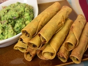 2 Dozen New Mexico Red Chile Beef or Green Chile Chicken Taquitos
