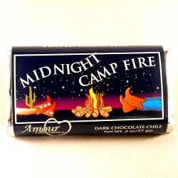Amour Midnight Campfire Dark Chocolate Chile Bar-2 pack