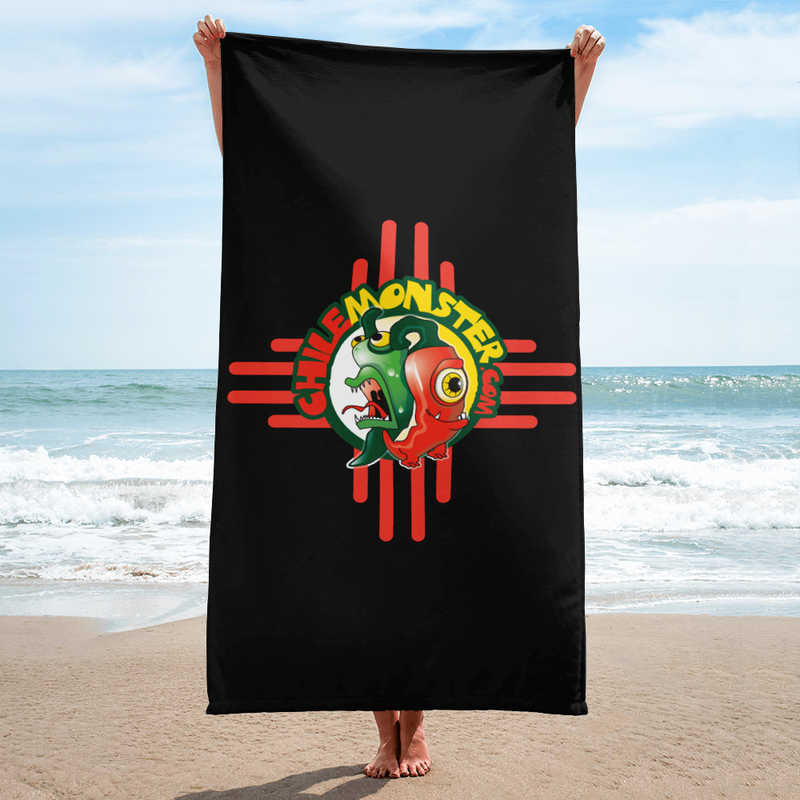 Chile Monster Logo Towel