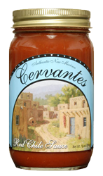Cervantes Red Chile Sauce- 3 Pack (Hot or X-Hot)