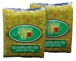 3lbs Authentic New Mexican Brand Roasted, Chopped, Hatch New Mexico Green Chile-Shipping Included! (HI/AK YES!)
