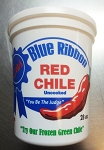 28oz Eva's Famous Blue Ribbon Fire Roasted Frozen Red Chile- 2 pack (56oz total)