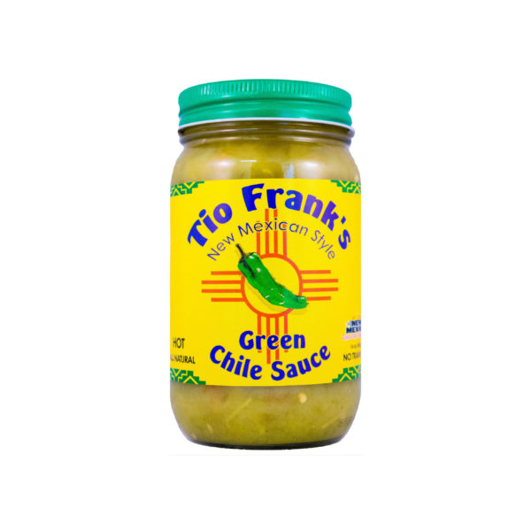 3 Jars Tio Frank's Green Chile Sauce, 2 Heats available