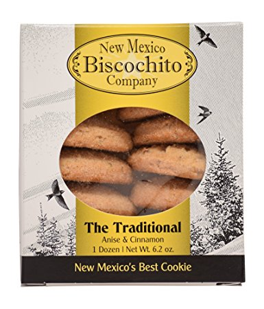 1 Dozen Biscochito Cookies in a Gift Box 2 Pack