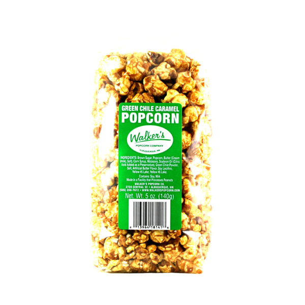 Walkers Green Chile Caramel Popcorn- 2 Pack