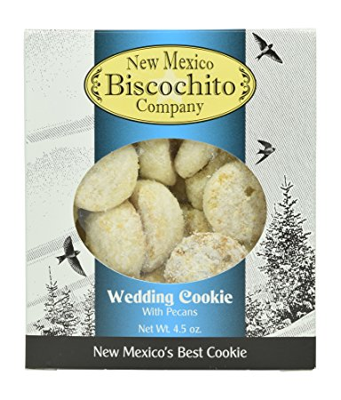NM Biscochito Company Wedding Cookies in a Gift Box- 2 Pack