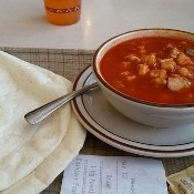 Frontier Restaurant Red Chile Pork Posole- 56  oz